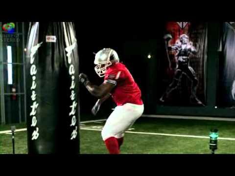 ESPN Sport Science uses Smartspeed to test Dwight Freeney