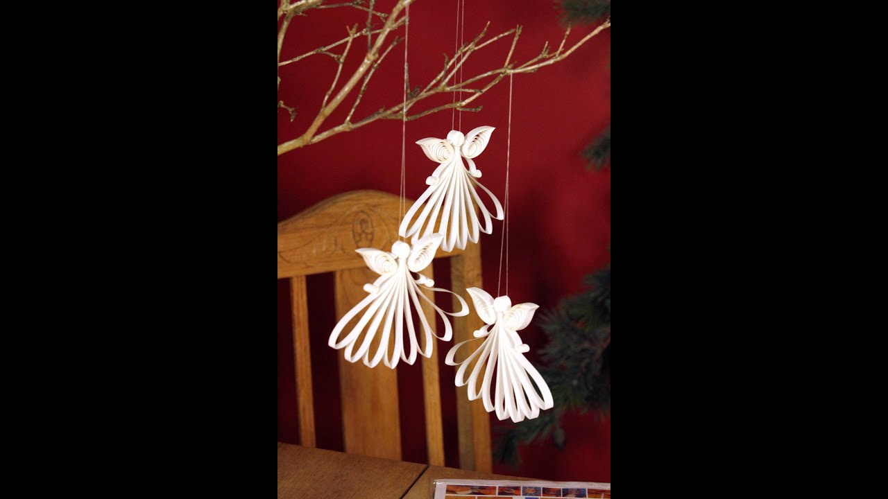 Papercraft Quilling Angel