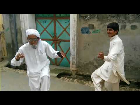 Funny video: Pakistani old man dancing.