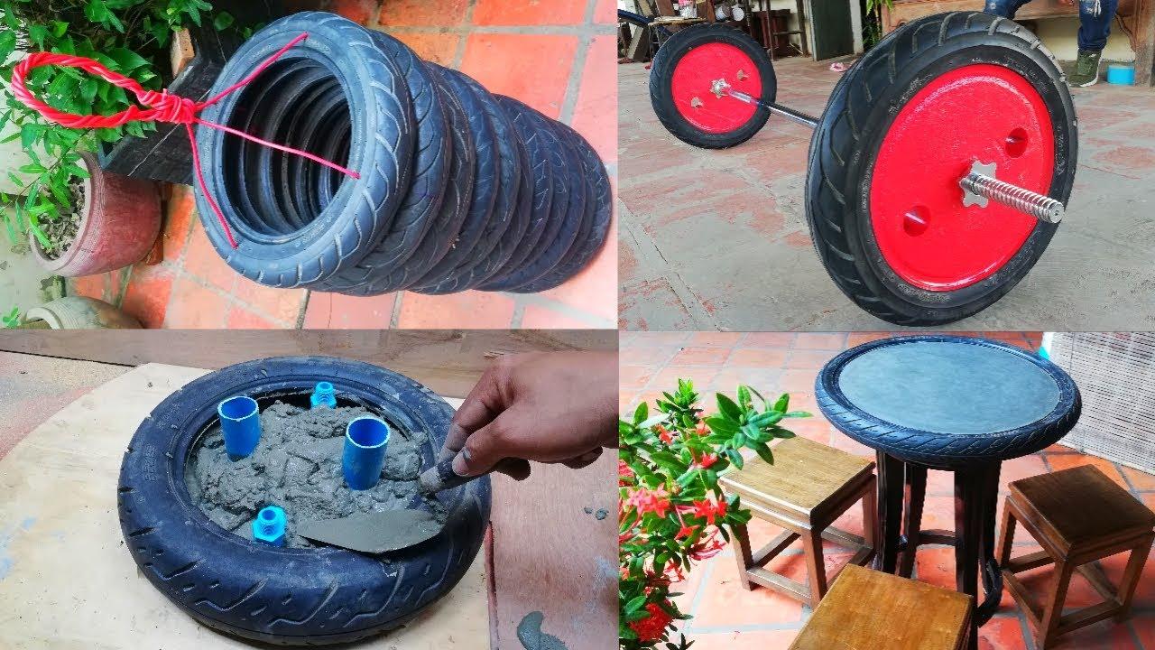 Топ 4 на най-яките неща, които можете да си направите от стари гуми!
