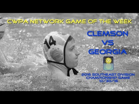 CWPA Network Game of the Week: Georgia vs. Clemson in 2016 Southeast Division Championship Game