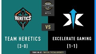 Team Heretics vs Excelerate Gaming | CWL Pro League 2019 | Division B | Week 3 | Day 4