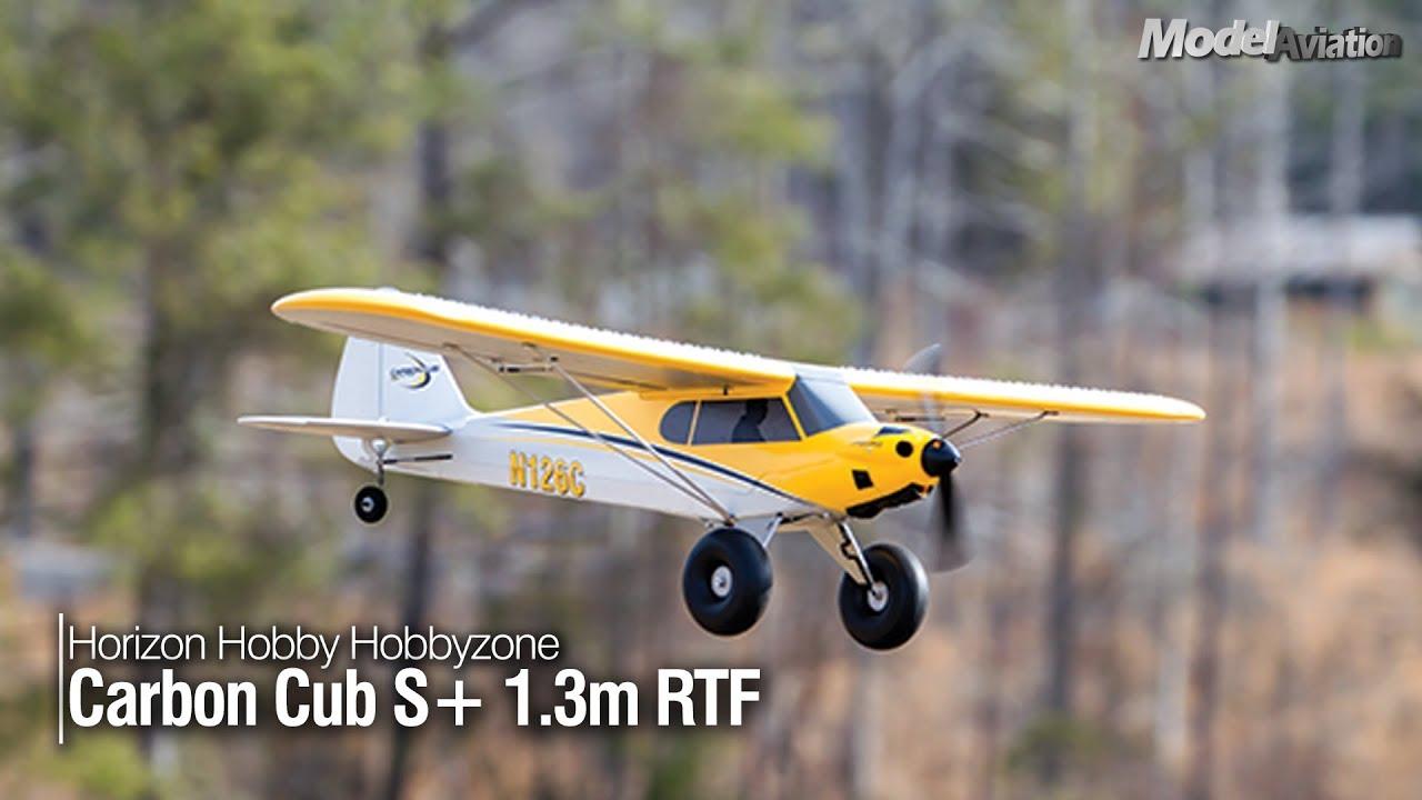 Horizon Hobby Hobbyzone Carbon Cub S 1 3m Rtf Model Aviation Magazine