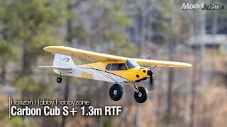 Horizon Hobby HobbyZone Carbon Cub S+ 1.3M RTF - Model Aviation magazine