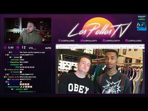 Awkward Kid (Delly) Returns On LosPollosTv's Stream *HILARIOUS* Exposure?