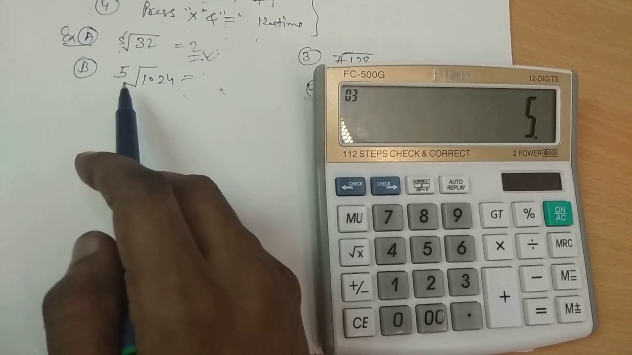 Find nth root of any number