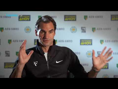 "Roger Federer interview after ""surreal"" return to No.1 