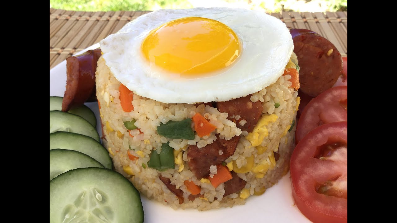 How to make pork sausage fried rice chinese food recipes restaurant how to make pork sausage fried rice chinese food recipes restaurant style youtube ccuart Image collections