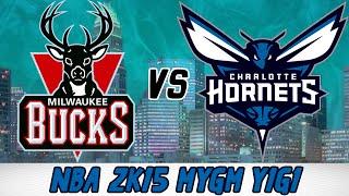 NBA 2K15 Charlotte Hornets MyGM- Year 1 Game 1