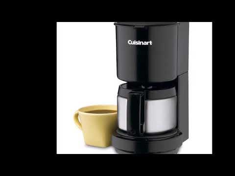 Cuisinart DCC-450bBK Review 4-Cup Coffeemaker