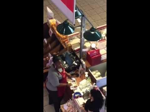 Hickory Farms Oxford Valley Mall Gross Worker Youtube