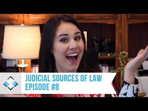 Judicial Sources of Law | Individual Income Tax | Episode 8