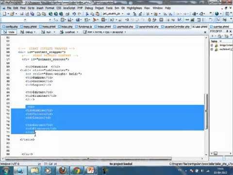 VideoTutorial 17 del Taller Práctico de PHP y MySQL