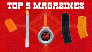 TOP 5: Nerf Magzines/Clips