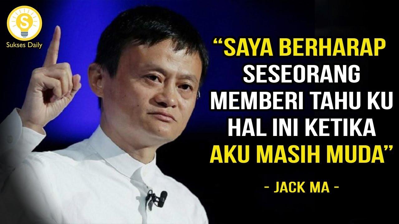 Nasihat Terbaik Jack Ma Untuk Anak Muda - Subtitle Indonesia - Motivasi dan  Inspirasi - YouTube