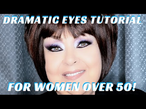 How To Do Makeup On Women Over 60 Makeup Tutorial Dramatic