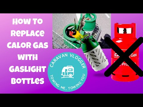 How To Replace Calor Gas With Gaslight Bottle In Your Caravan