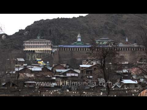 Hari Parbat Fort - a historical monument of Srinagar