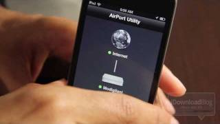 'AirPort Utility' Video Walkthrough(, 2011-10-12T14:34:44.000Z)