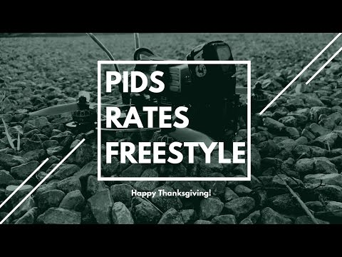 PIDS, RATES, AND DRONE FREESTYLE!