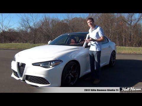 Review: 2017 Alfa Romeo Giulia Ti - The New Benchmark