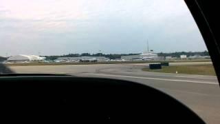 Grumman AA-1 Yankee arriving St. Augustine