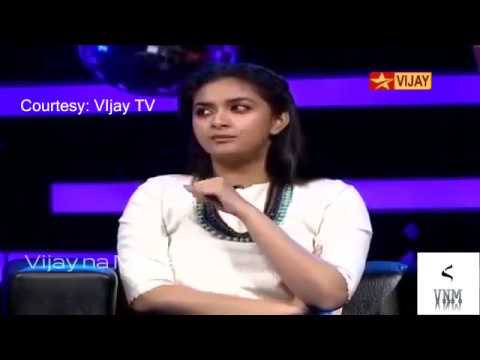 Keerthi Suresh About Vijay and his dancing skills thumbnail