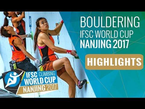 IFSC Climbing World Cup Nanjing 2017 - Bouldering Highlights