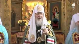 Чудо в Храме Христа Спасителя во время речи Кирилла