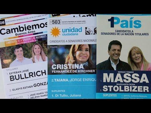 RT en Español: Anuncian los primeros resultados de las elecciones parlamentarias en Argentina