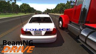 ПОГОНЯ ЗА ГРУЗОВИКОМ - BeamNG.drive