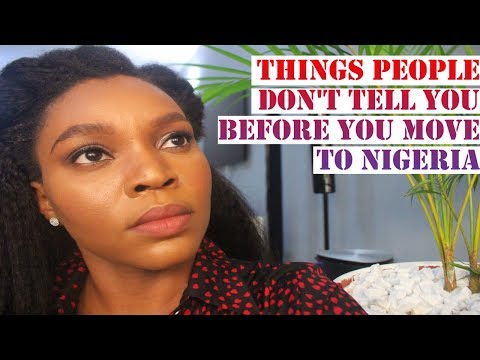 THINGS PEOPLE DON'T TELL YOU BEFORE YOU MOVE TO NIGERIA | LOST IN LAGOS