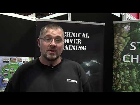 DIVE 2017 Review: Scubaverse talks to Barry White from St. Abbs Charters