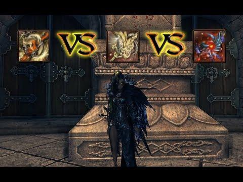 Legendary 12 VS Dawnforged 6 VS Raven 6 - DPS/Burst Test