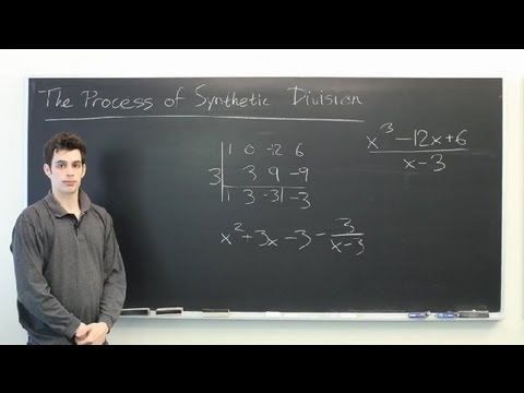 Explain the Process of Synthetic Division : Mathematics: Division & More
