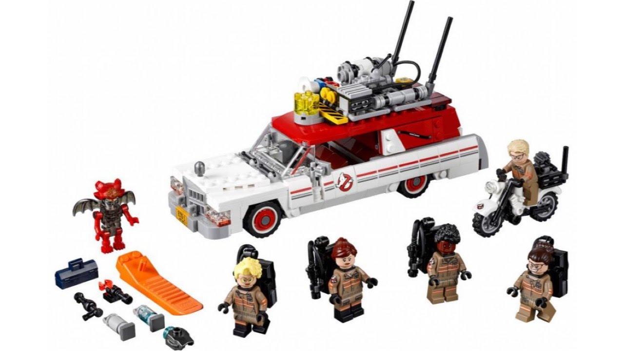 LEGO Ghostbusters 2016 ECTO1 set