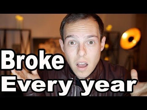 Why I'm ALWAYS broke by the end of the year…$300,000 gone