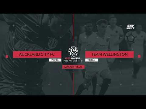 ISPS Handa Premiership Final - Auckland City v Team Wellington