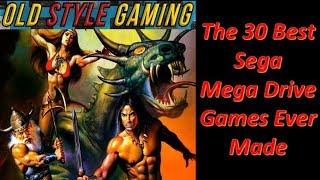 The 30 Best Sęga Mega Drive/ Genesis Games Ever Made!
