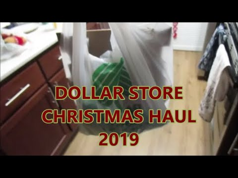 Dollar Store Christmas Haul Day 2325