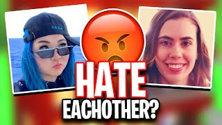 Why ItsFunneh and GamingwithJen HATE EACH OTHER!!