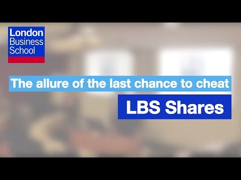 The allure of the last chance to cheat | London Business School