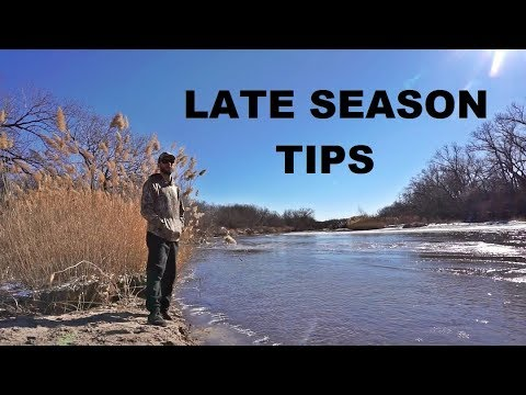 LATE SEASON Public Land And River Duck Hunting Tips