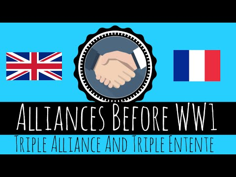 Alliances Before WW1 - Triple Alliance And Triple Entente - GCSE History
