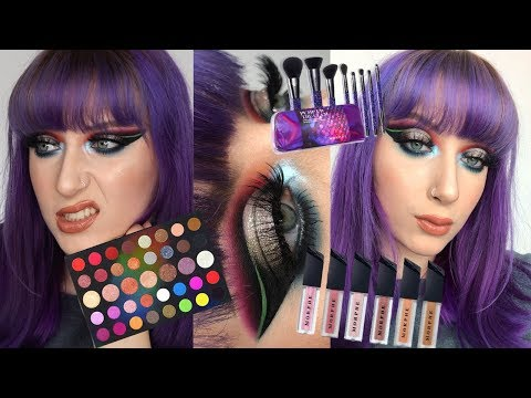Testing NEW Morphe Holiday Collection 2019 / 39L Palette! | Alice King