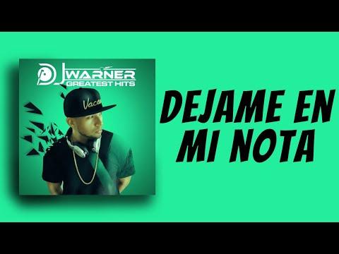 DJ Warner - Déjame en mi Nota ft. Yomo