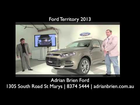 Ford Territory Adelaide, Ford Territory 2013, Ford Territory For Sale