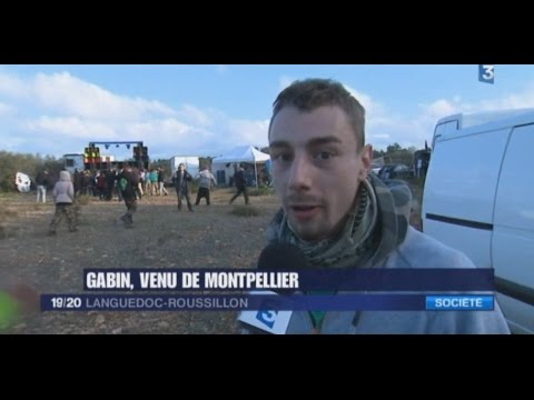 Free Party Tellurik / KTF - 30.31/12/2016 - Reportage France 3 Languedoc Roussillon