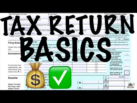 TAX RETURN BASICS / SINGLE FILING STATUS / NO DEPENDENTS / FORM 1040 PERSONAL RETURN / CPA STRENGTH
