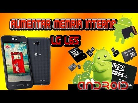Aumentar la memoria interna de un LG L65